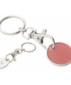 Obesek za ključe z žetonom